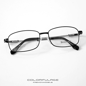 光學眼鏡 彈性金屬方框眼鏡
