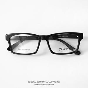 光學眼鏡 簡約方型膠框眼鏡