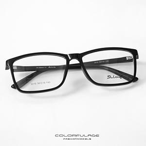 光學眼鏡 一體成型方膠鏡框