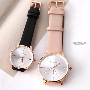手錶 正韓Lavenda簡約俐落腕錶