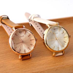 手錶 正韓Julius精緻皮革腕錶