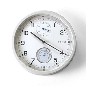 時鐘 SEIKO精工時尚白面掛鐘