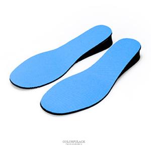台灣製男款3.5CM增高鞋墊