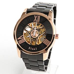 機械錶 羅馬數字鏤空飛鏢手錶