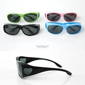 墨鏡 心形兒童太陽眼鏡