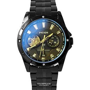 機械錶 水鑽外框三眼造型錶