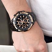 手錶 仿三眼粗礦不鏽鋼錶