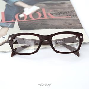 日文青木質方鏡框平光眼鏡