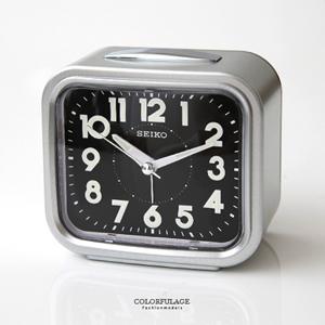 SEIKO傳統型銀色鬧鐘