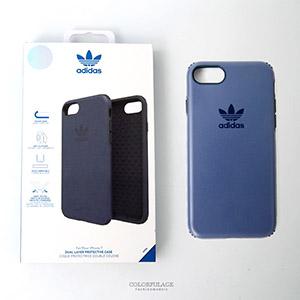 iPhone 7 愛迪達藍紫色手機殼