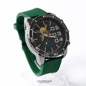 海賊王索隆綠色錶帶手錶