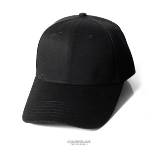 帆布銅扣帶彎沿帽棒球帽