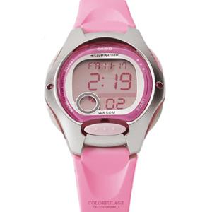 CASIO卡西歐甜美粉嫩休閒手錶