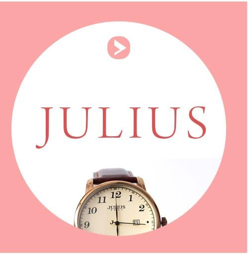 julius 手錶