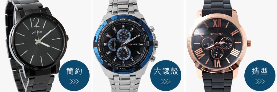 鋼帶錶推薦