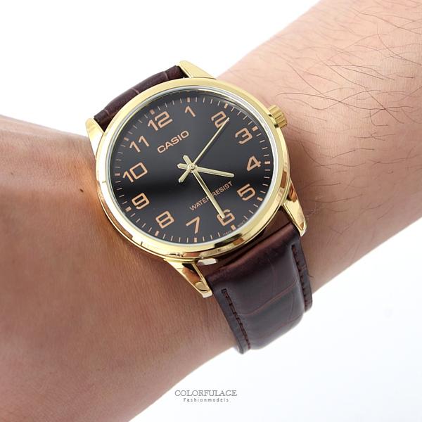 CASIO皮革錶